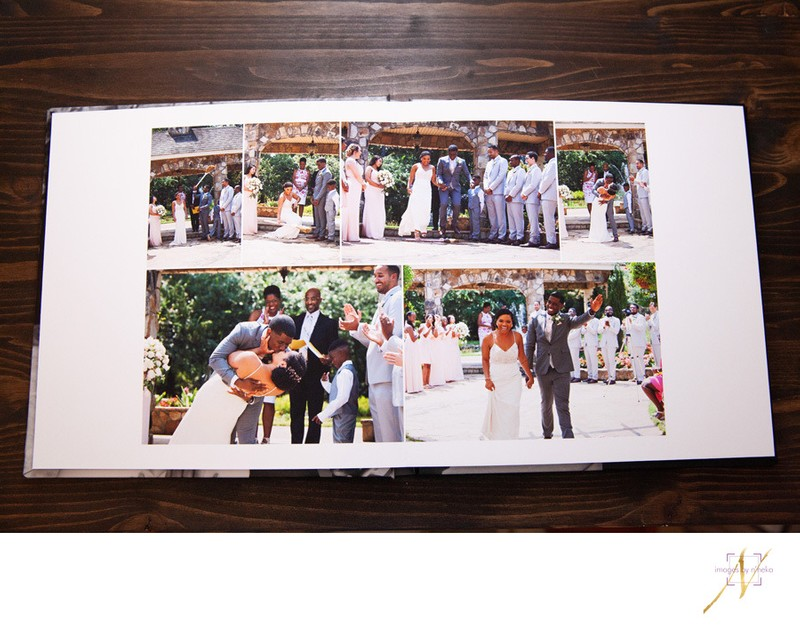 Inside Fine Art Wedding Book