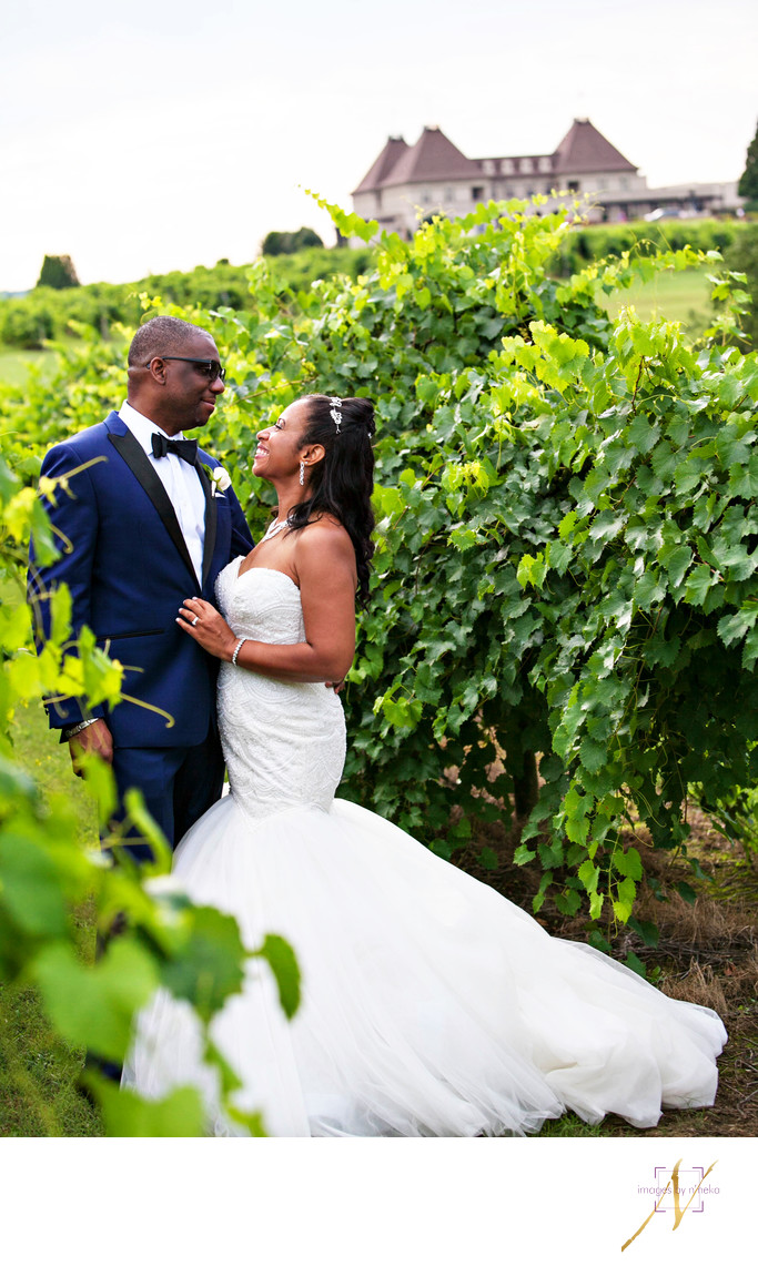 Chateau Elan Vineyard Wedding Portraits