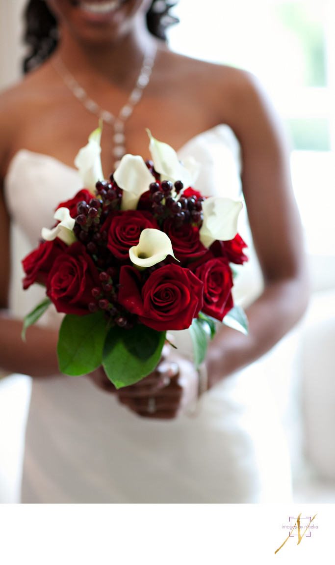 Rose and Calla Lily Wedding bouquet
