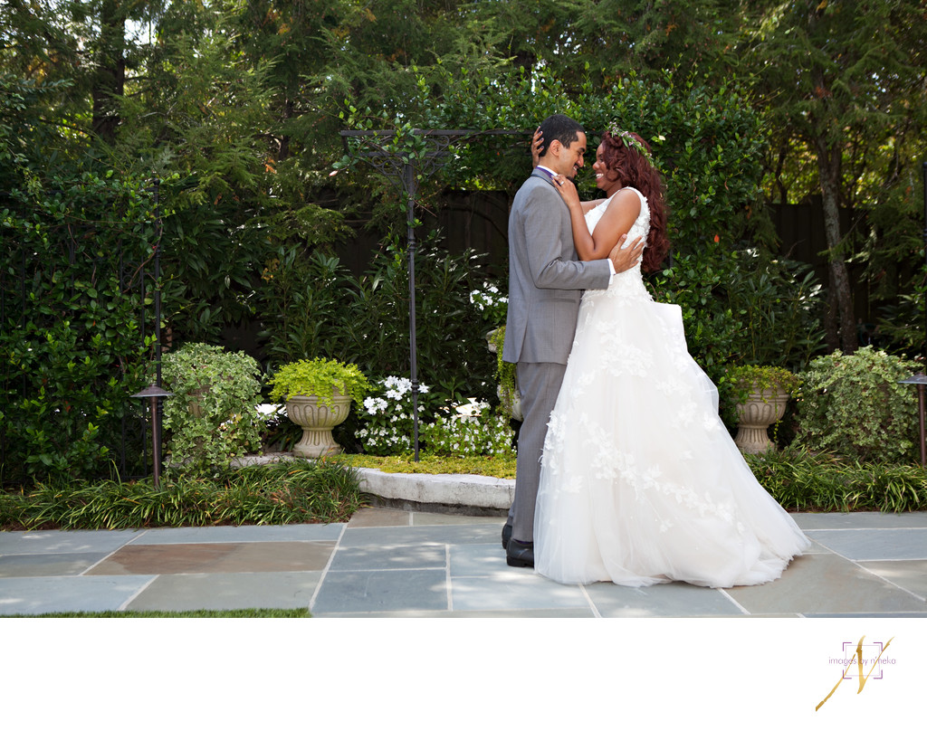 Garden wedding Atlanta