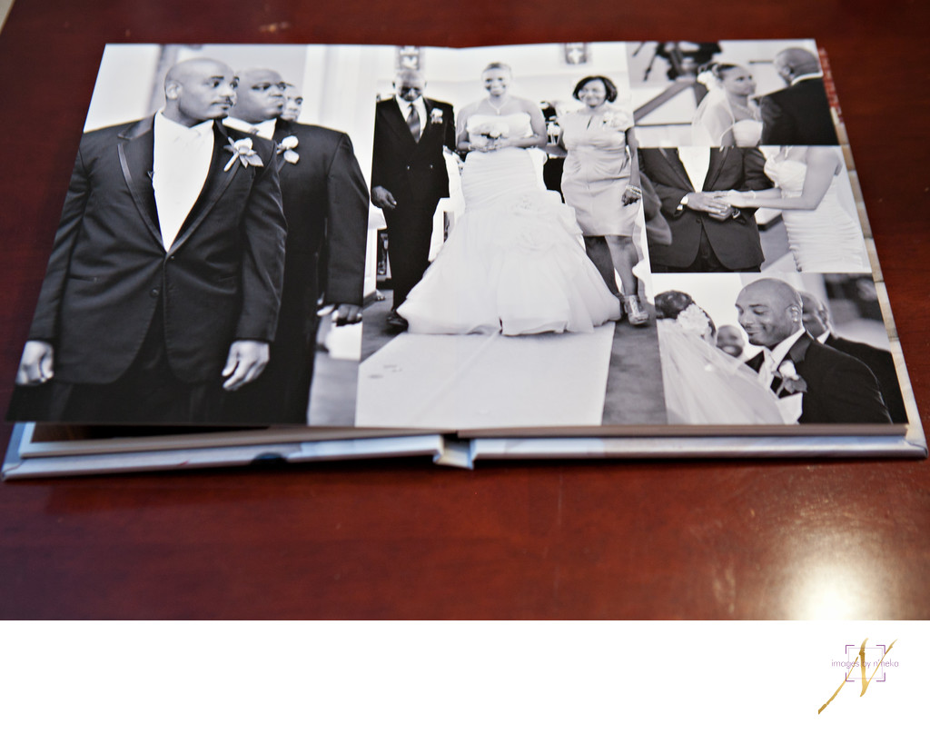 Wedding Fine Art Book inside