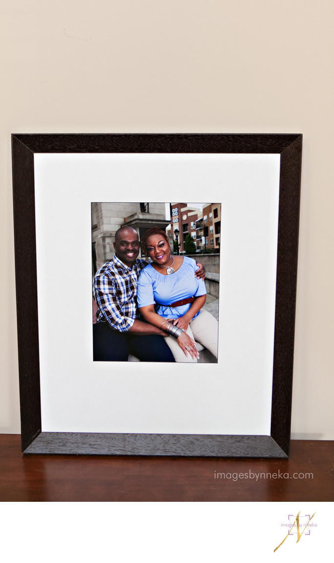 Framed Engagement Signature Board