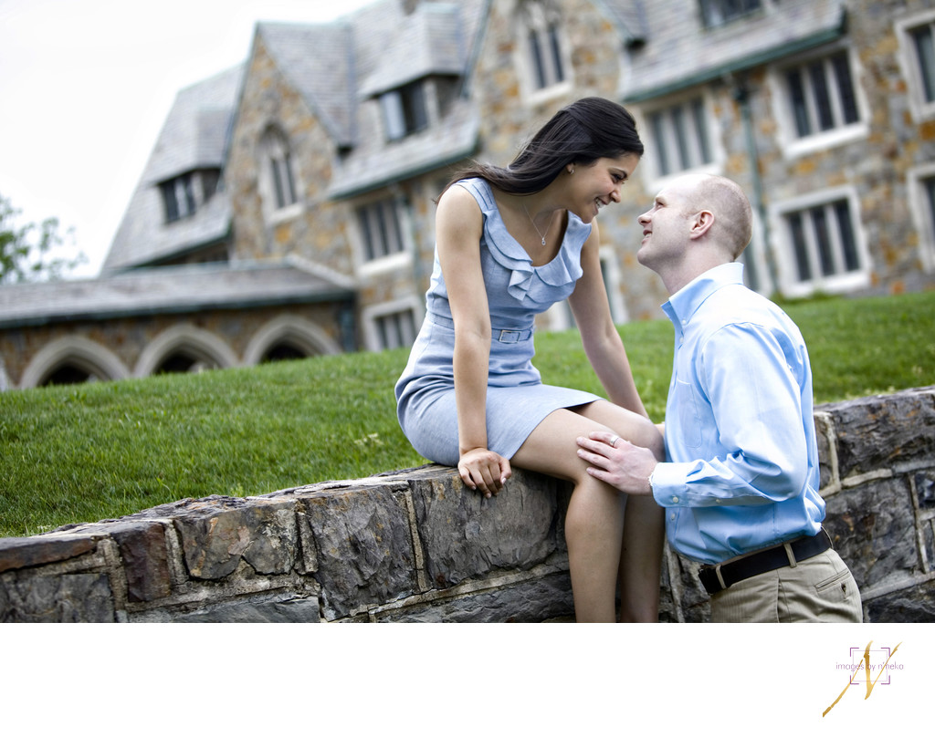 Berry College engagement portraits