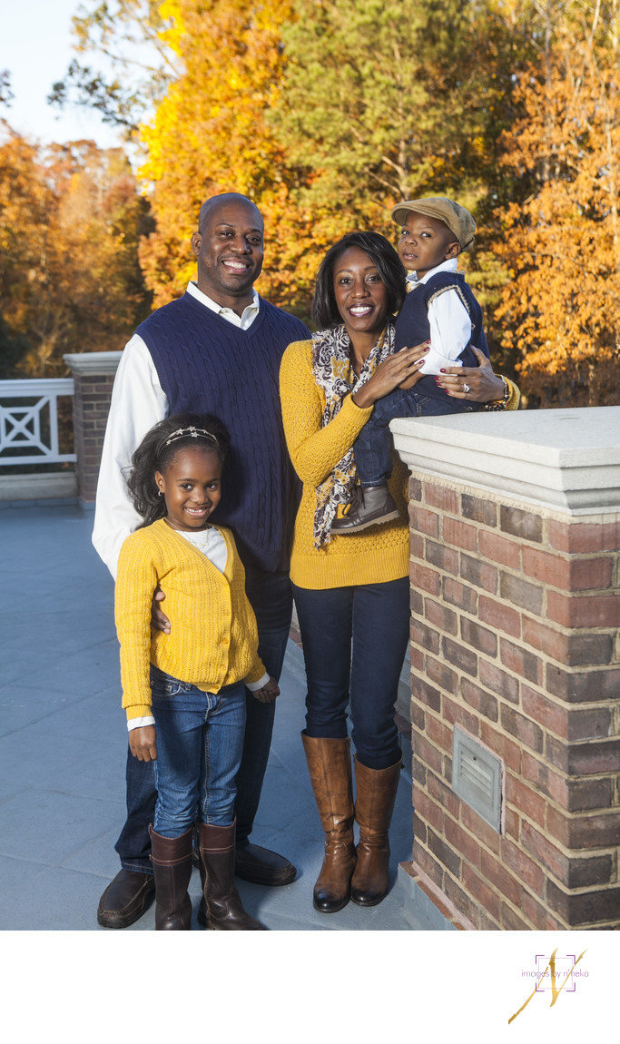 Fall family photos Atlanta