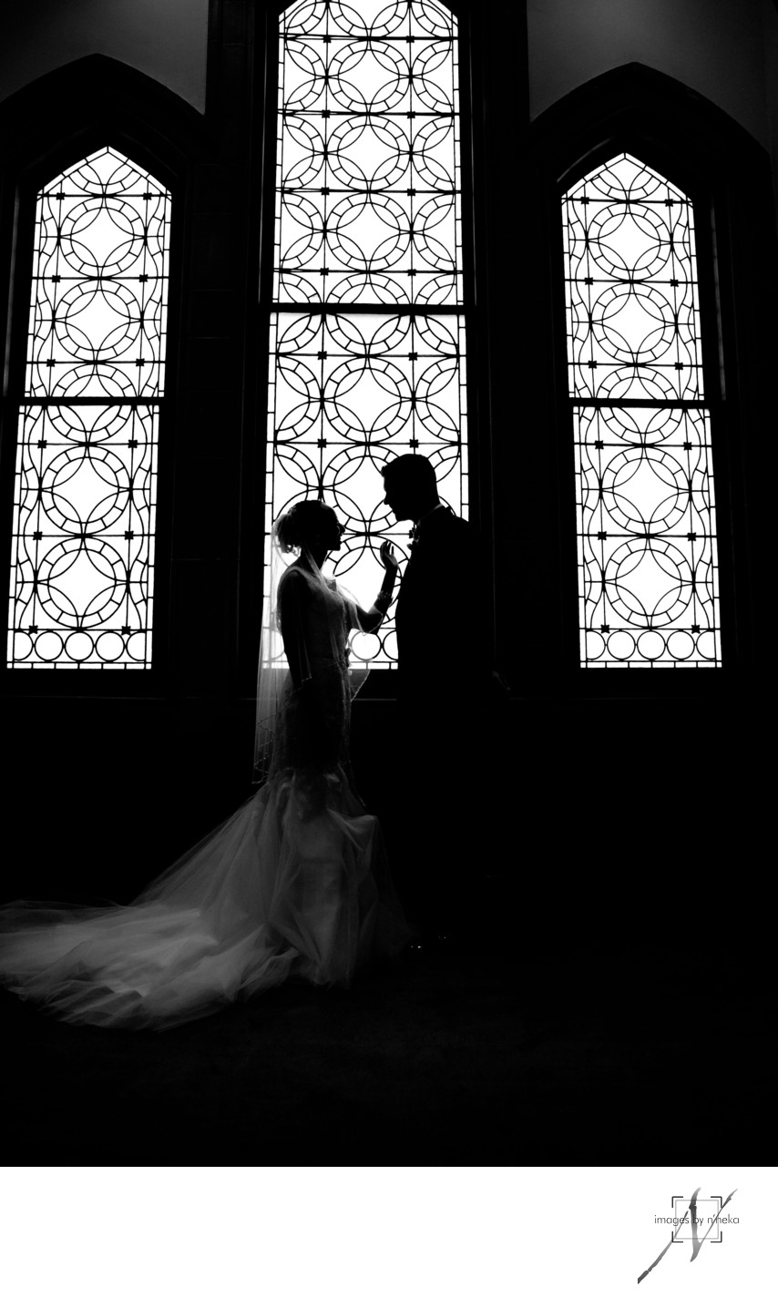 Callanwolde Fine Arts Center Wedding Portrait