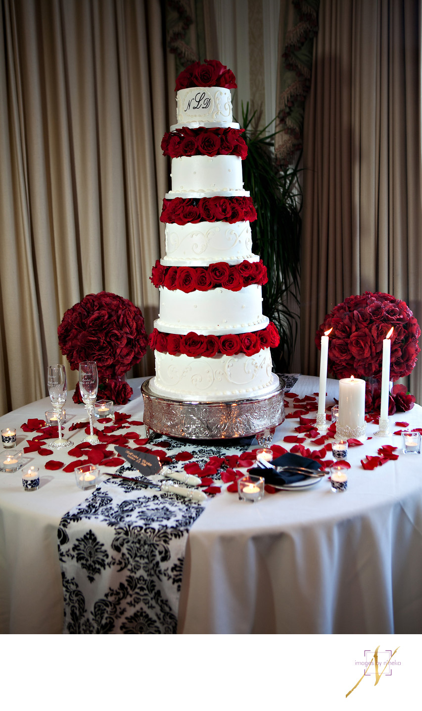 Wedding Cake at Villa Christina