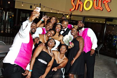 atlanta wedding party photos