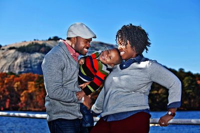 Stone Mountain Park Family Portraits