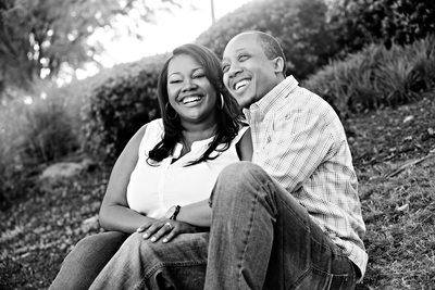 Atlantic Station engagement portrait