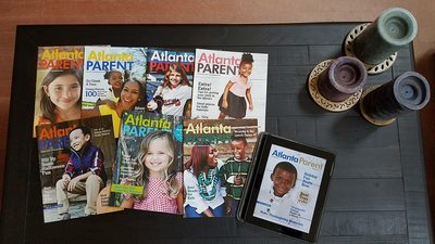 Atlanta Parent Magazine Covers