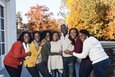Extended Family Fall Portraits