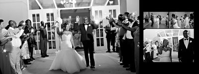 Chateau elan wedding exit