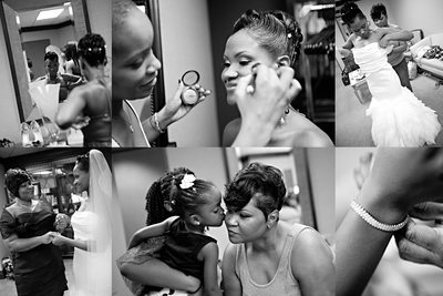 Bridal Prep at the Carter Center