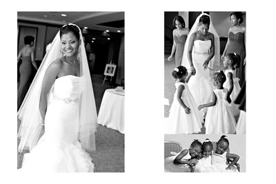 Carter Center bride and flower girls