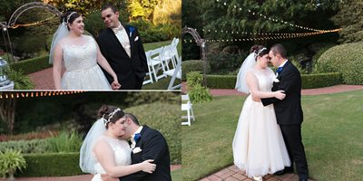 Romantic Wedding Portraits at Little Gardens