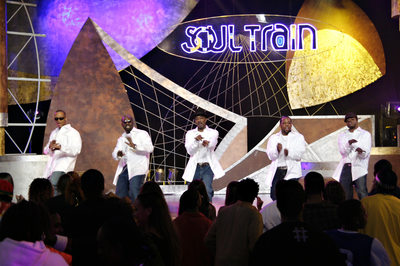 New Edition on Soul Train