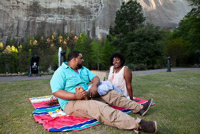 Portraits at Stone Mountain Memorial Lawn
