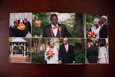 Colorful Wedding Book