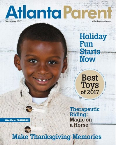 Atlanta Parent Nov 2017 Cover