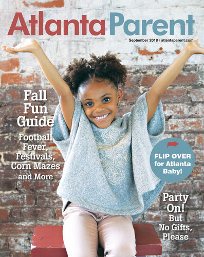 Atlanta Parent Sept 2018 Cover