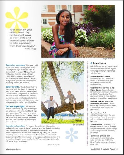 Atlanta Parent Apr 2016 Editorial