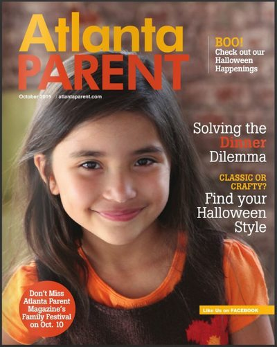 Atlanta Parent Oct 2015 Cover