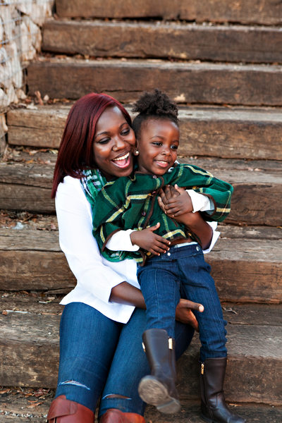 outdoor family portraits Atlanta