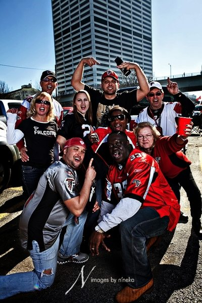 Atlanta Falcons Fan Portraits