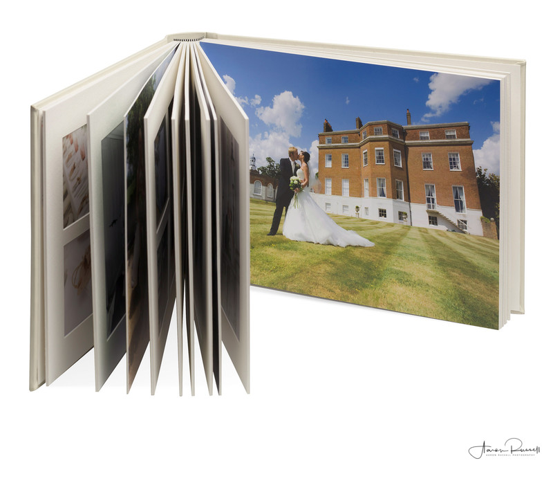Derbyshire Wedding Photographer Matted Album
