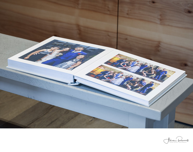 Derbyshire Wedding Photographer Matted Albums