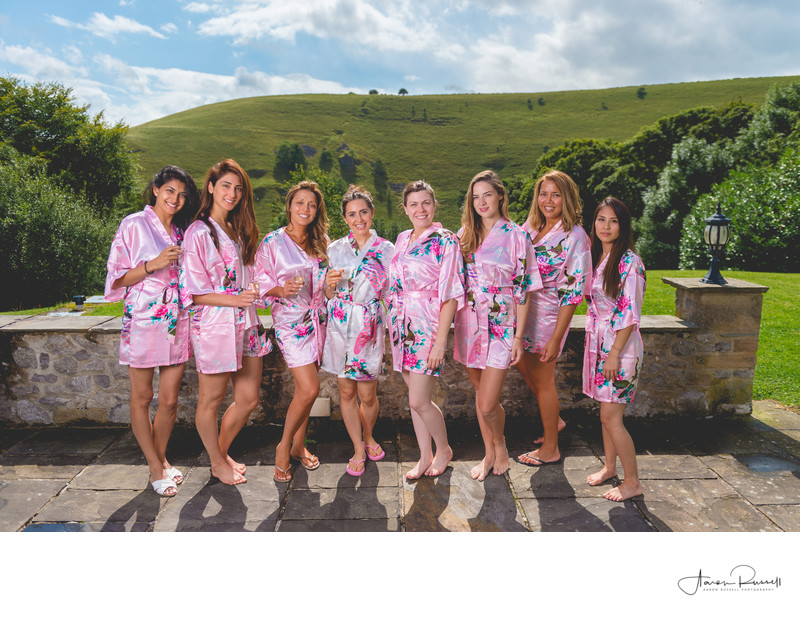 Wedding Photographer Derby - Bride & Bridesmaids