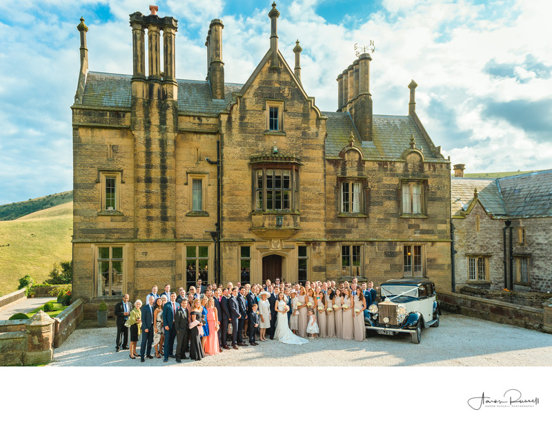 Cressbrook Hall Wedding Venue Buxton