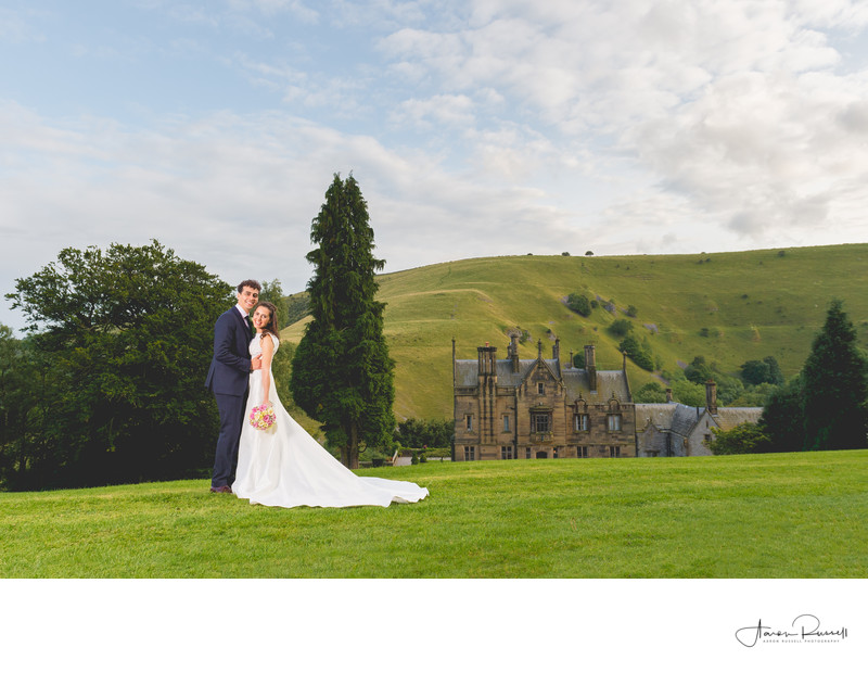 Cressbrook Hall Derbyshire Wedding Photographer