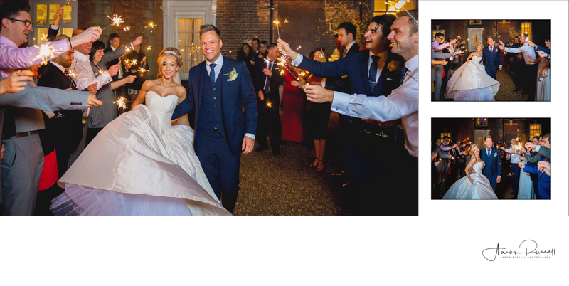 Derbyshire Wedding Photographers Sparklers Photos