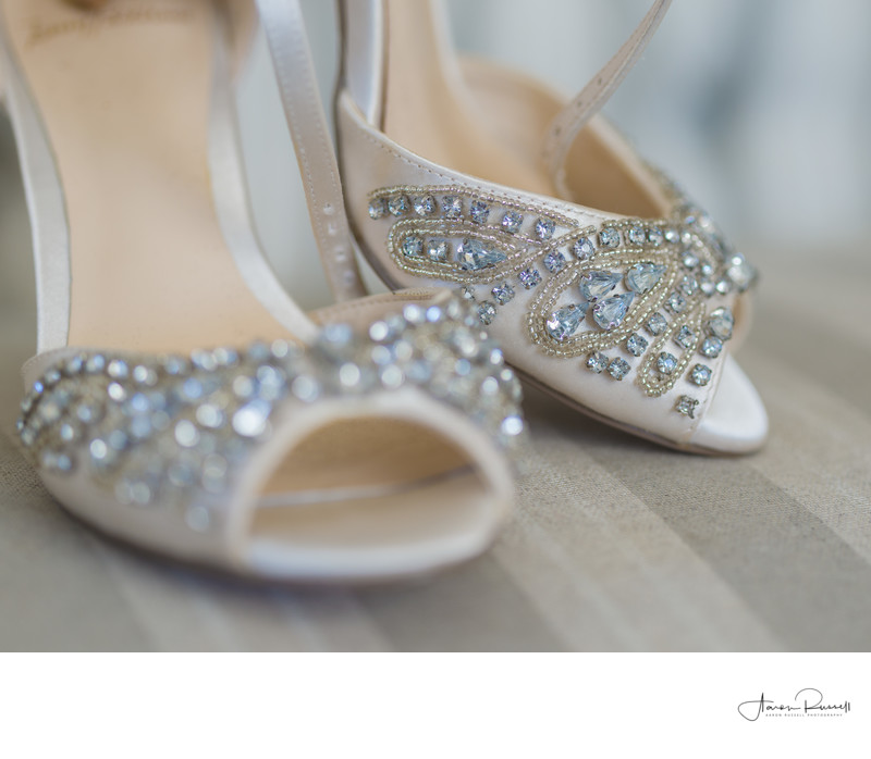 Derbyshire Brides Shoes Wedding Photography
