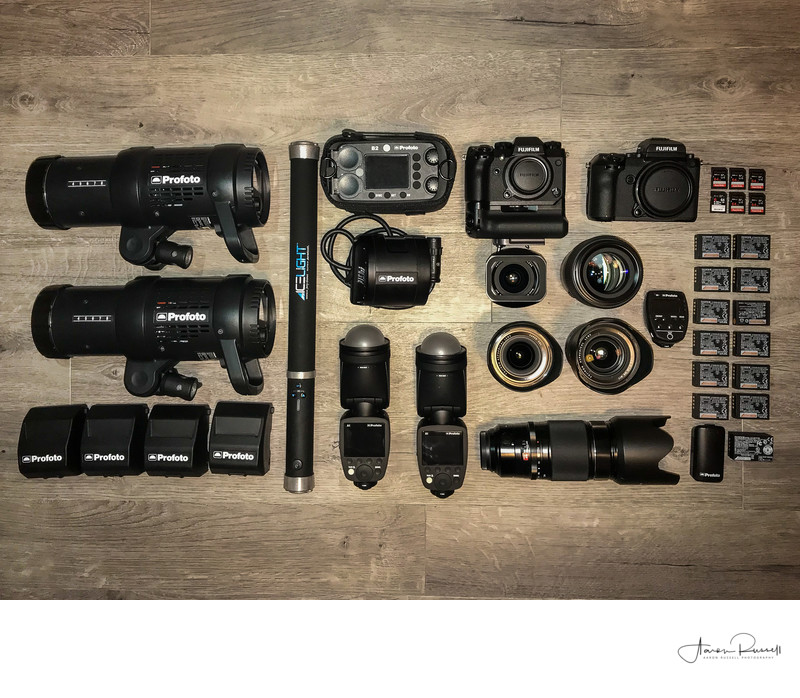 Wedding Photography Equipment List