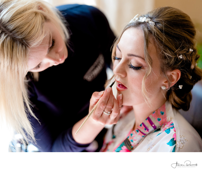 Bridal Makeup Photography Leicestershire