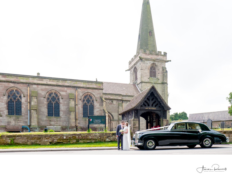 Staffordshire Church Wedding Photography