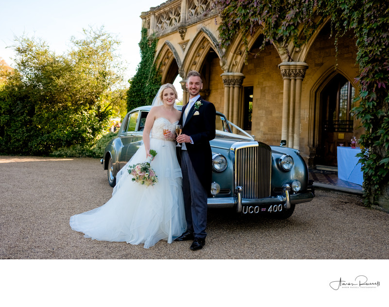 Wedding Car Photographers in Derbyshire