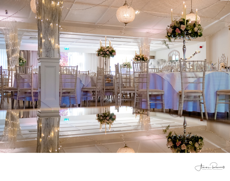Wedding Room Decor Photographers Derbyshire