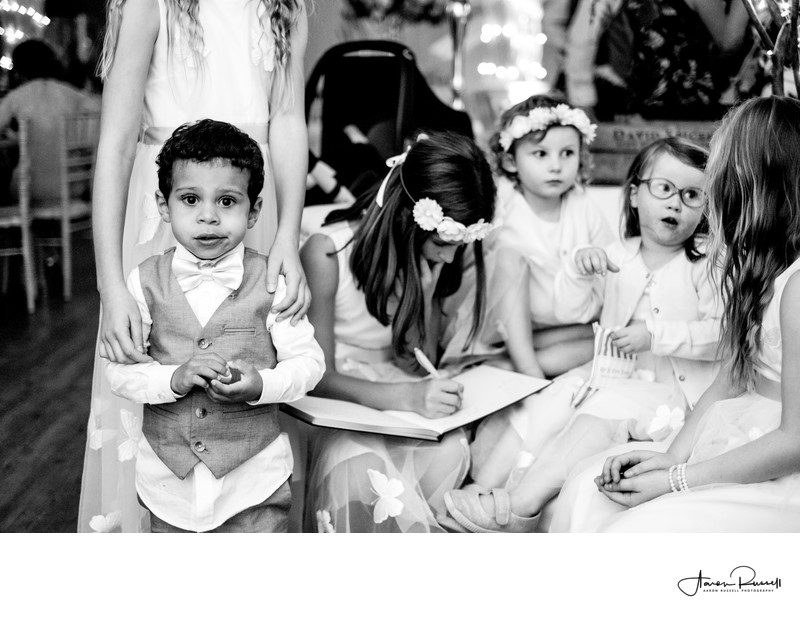 Page Boy Wedding Photography Derbyshire