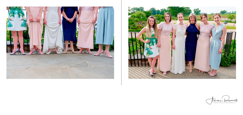 Brides Friends Leicestershire Wedding Photographer