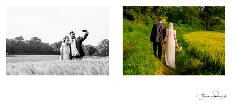 Derbyshire Wedding Photographers Album Design 34 of 38