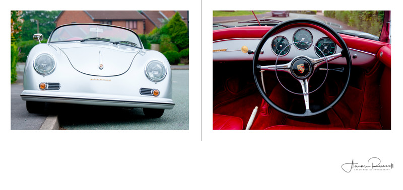 Porsche Wedding Car Derbyshire