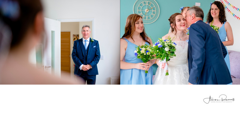 Father of the Bride Wedding Photographs Derbyshire
