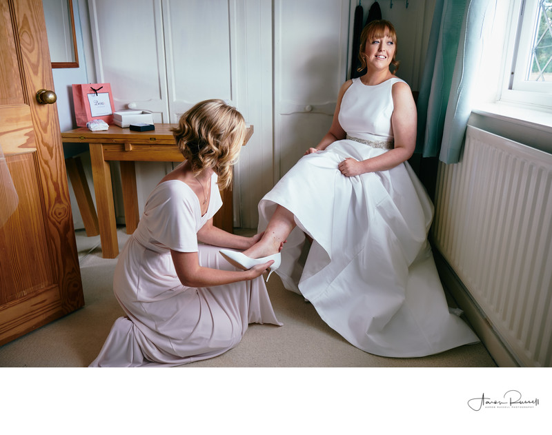 Wedding Photographers Derbyshire Brides Shoes