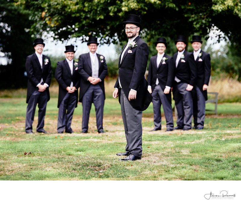 Groomsmen Wedding Photographers Derbyshire