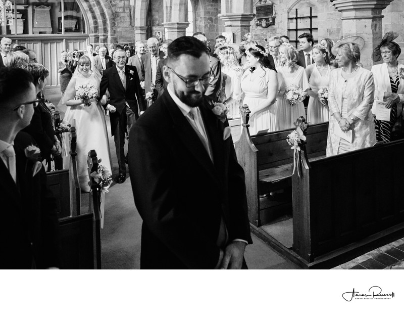 Leicestershire Church Wedding Photographers