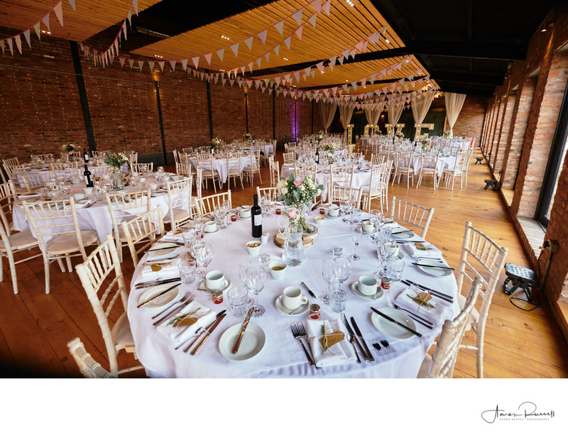 Wedding Reception Dressing Photographer Derbyshire