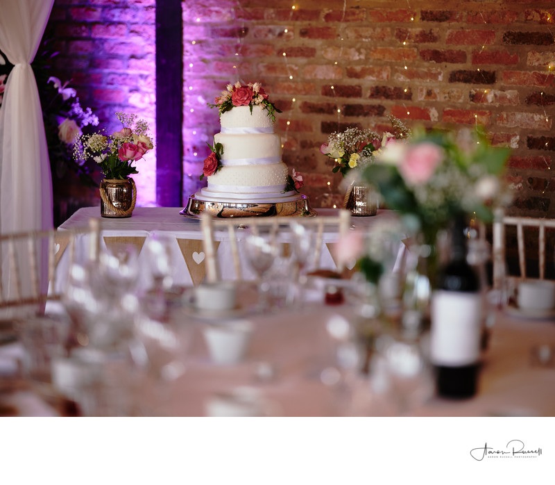 Derbyshire Wedding Cake Photography